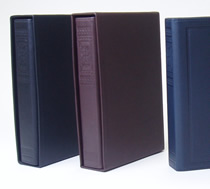 システム手帳/ビブロス・バイブル(リング径20mm)/ケースに入れるとまるで洋書のように!
